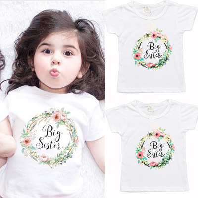 Cotton T-shirt Printed With Letters In Children's Wear